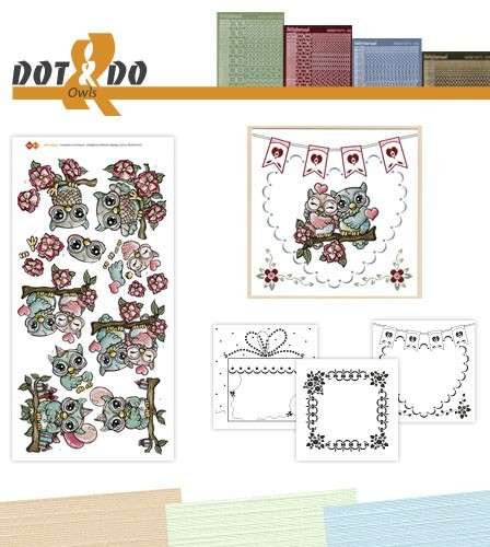 Dot & Do Hobby Dots Pakket - Uilen