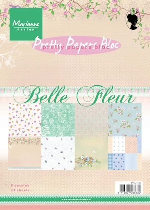 Pretty Papers Bloc - Belle Fleur