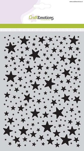 Craft Emotions Mask Stencil - Stars