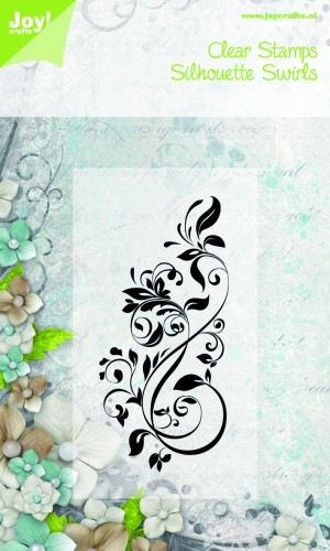 Joy Clearstamps - Silhouette Swirls