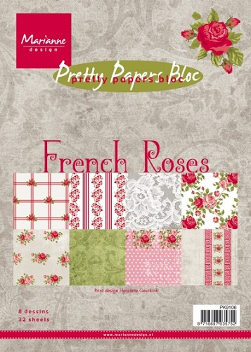Pretty Papers Bloc - French Roses