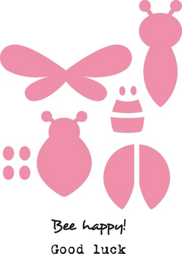 Collectables Marianne Design - Bee & Ladybird