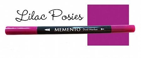Memento Dual Marker - Lilac Posies