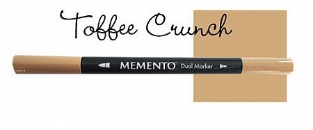 Memento Dual Marker - Toffee Crunch