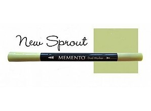 Memento Dual Marker - New Sprout