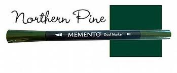 Memento Dual Marker - Northern Pine