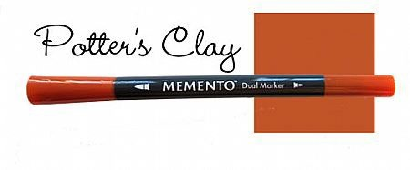 Memento Dual Marker - Potter`s Clay