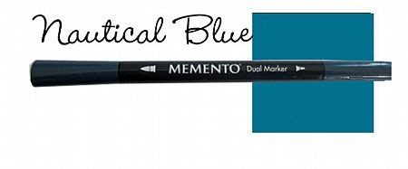 Memento Dual Marker - Nautical Blue