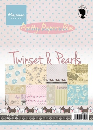 Pretty Papers Bloc - Twinset & Pearls