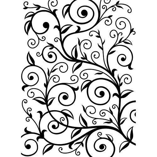Darice Embossing Folder - Vine Pattern