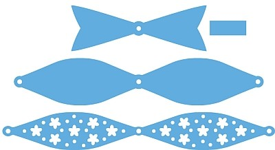 Creatables Marianne Design - Medium Bow