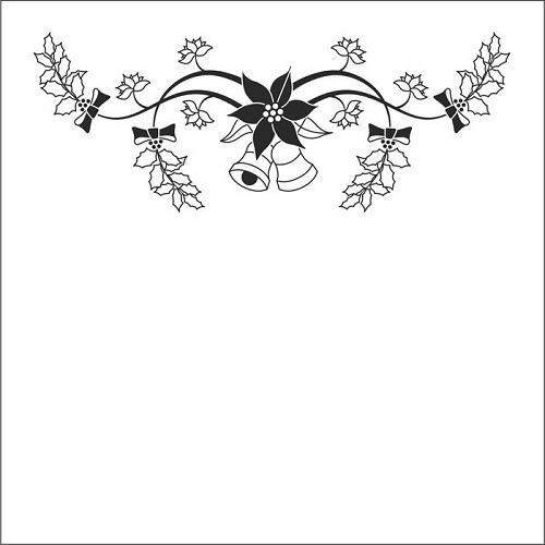 Nellie Snellen Embossing Folder - Christmas Bells