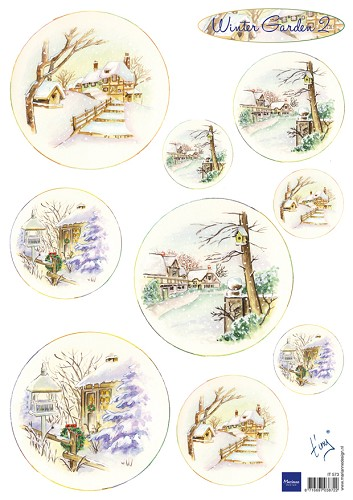 Knipvel Marianne Design - Tiny`s Winter Garden 2