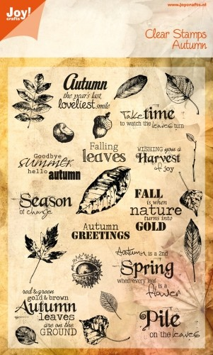Joy Clearstamps - Autumn
