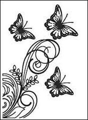 Dixi Craft Embossing Folder EMF003