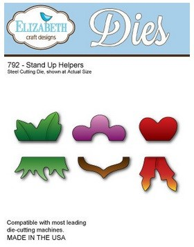 Elizabeth Craft Designs Dies - Stand Up Helpers