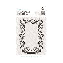 Xcut Embossing Folder - Foliage Frame