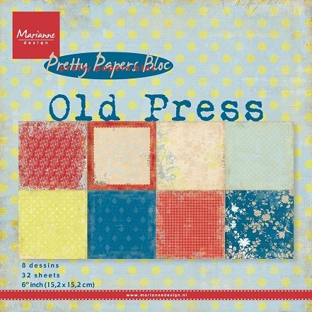 Pretty Papers Bloc - Old Press