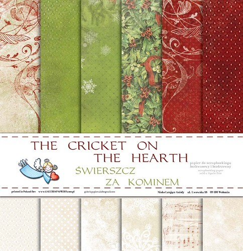 Galeria Papieru Paper Pad - The Cricket on the Heart