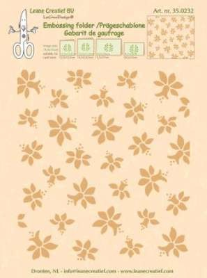 Embossing Folder Leane Creatief - narcissen