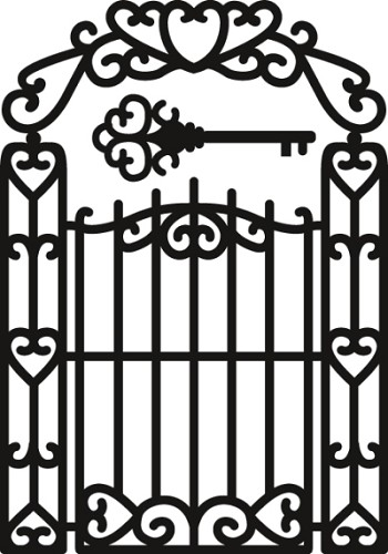 Craftables Marianne Design - garden gate