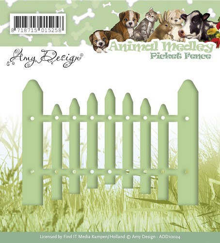 Amy Design Stans - Animal Medley - picket fence