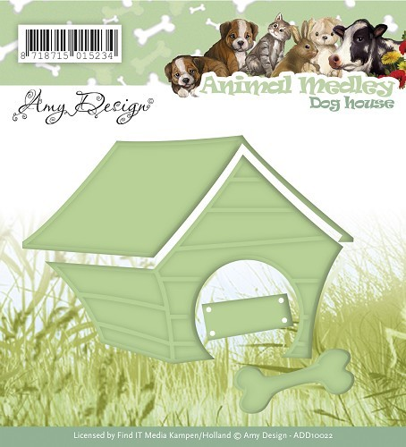 Amy Design stans - Animal Medley - dog house