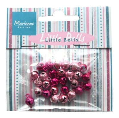 Marianne Design Mini Bells - light pink & dark pink