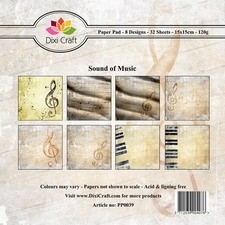 Dixi Craft Paper Pad - Sound of Music