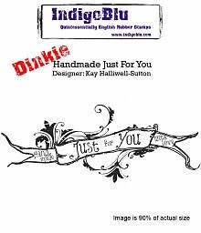 Indigo Blu Stempel - Handmade Just For You