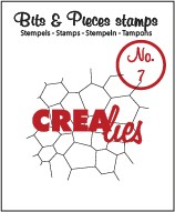 Crealies Clearstamp - Bits & Pieces 7