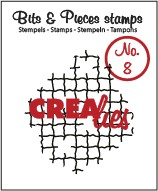 Crealies Clearstamp - Bits & Pieces 8