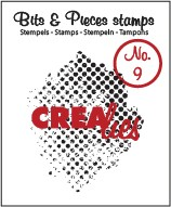 Crealies Clearstamp - Bits & Pieces 9