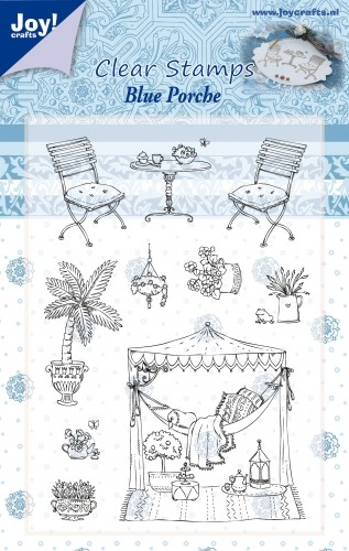 Joy Clearstamps - Blue Porche