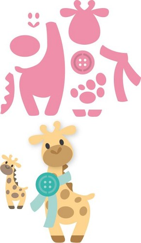 Collectables Marianne Design - giraffe