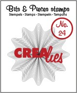 Crealies Clearstamp - Bits & Pieces 24
