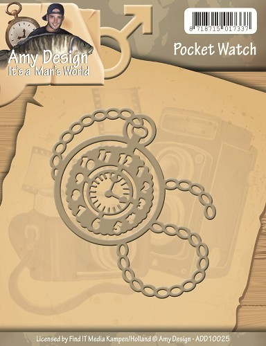 Amy Design Stans - It`s A Man`s World - Pocket Watch