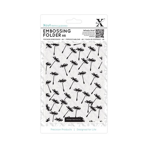 Xcut Embossing Folder - Dandelion Seeds