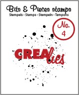 Crealies Clearstamp - Bits & Pieces 4