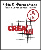 Crealies Clearstamp - Bits & Pieces 11