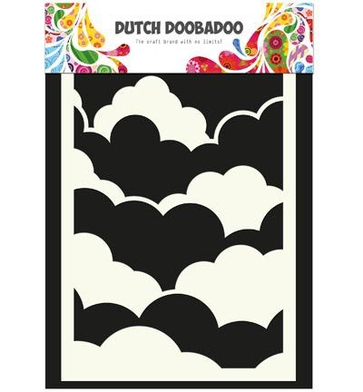 Dutch Doobadoo Mask Art - Clouds