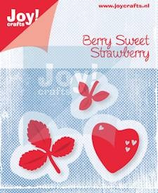 Joy Stencil - Berry Sweet - Strawberry