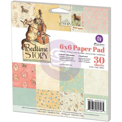 Prima Marketing Paper Pad - Bedtime Story