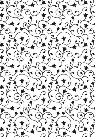Nellie Snellen Embossing Folder - Swirl Pattern
