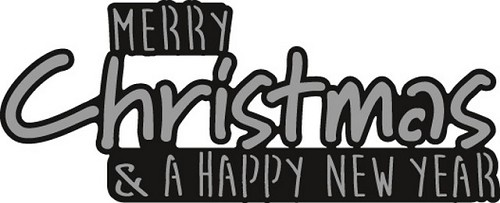 Craftables Marianne Design - Merry Christmas