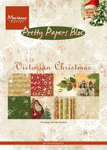 Pretty Papers Bloc - Victorian Christmas