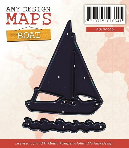 Amy Design stans - Maps - boat
