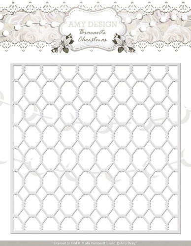 Amy Design Stans - Brocante Christmas - wire frame