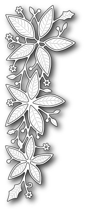 Memorybox Stans - Poinsettia Border