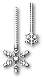 Memorybox Stans - Twinkling Snowflake Duet